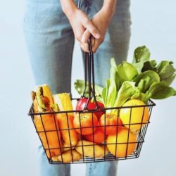 plant foods grocery basket