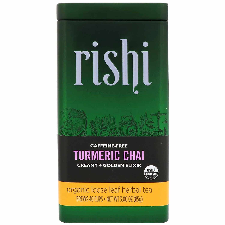 rishi turmeric chai tea