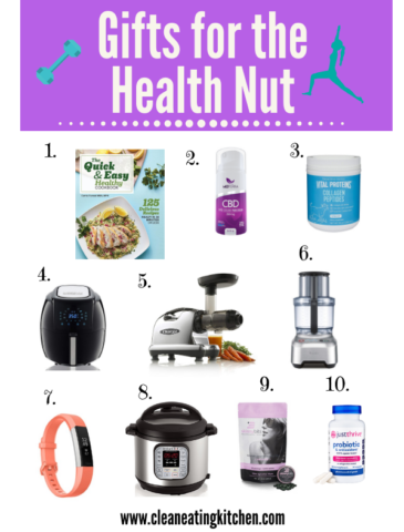 Gifts for the Health Nut FB