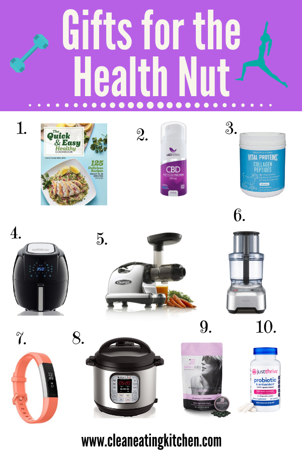 Gifts for the Health Nut