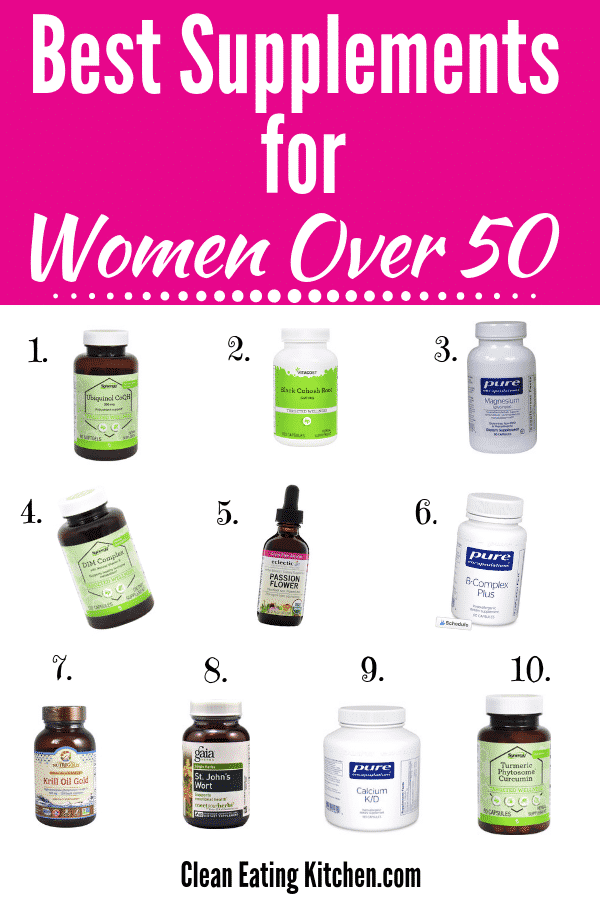 Best Supplements for Women Over 50