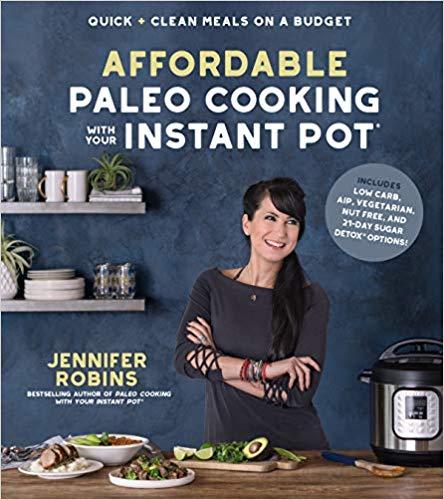 affordable instant pot paleo cookbook