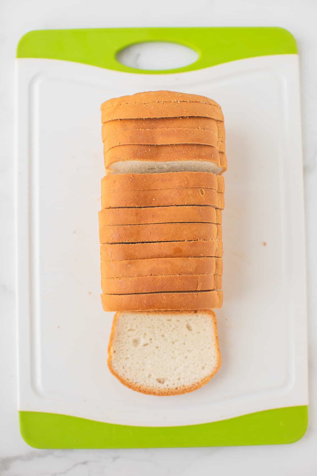 sliced bread for stuffing