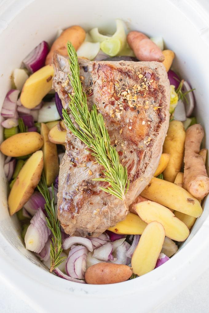 roast in a slow cooker