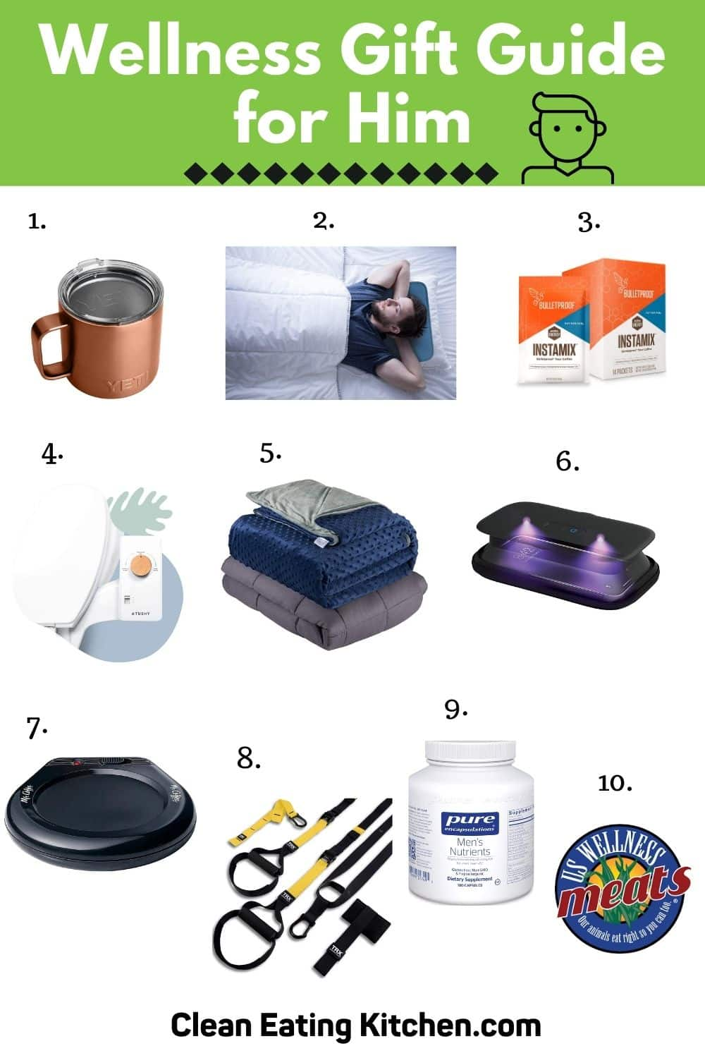 wellness gift guide for him