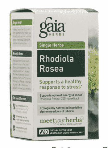 Rhodiola from Gaia Herbs