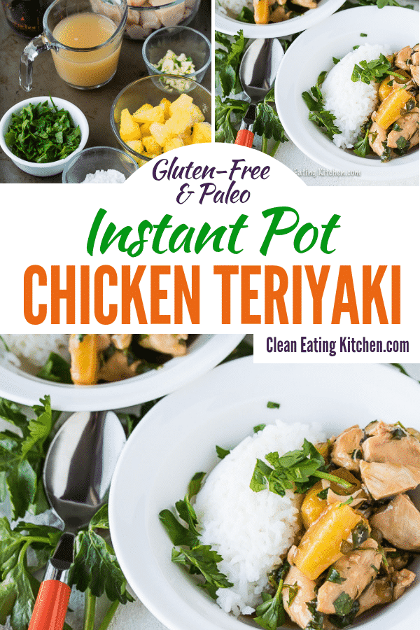 gluten free instant pot chicken teriyaki
