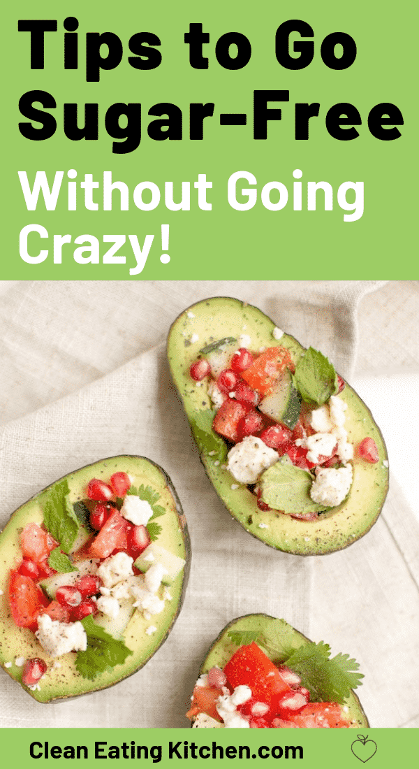 go sugar free without going crazy