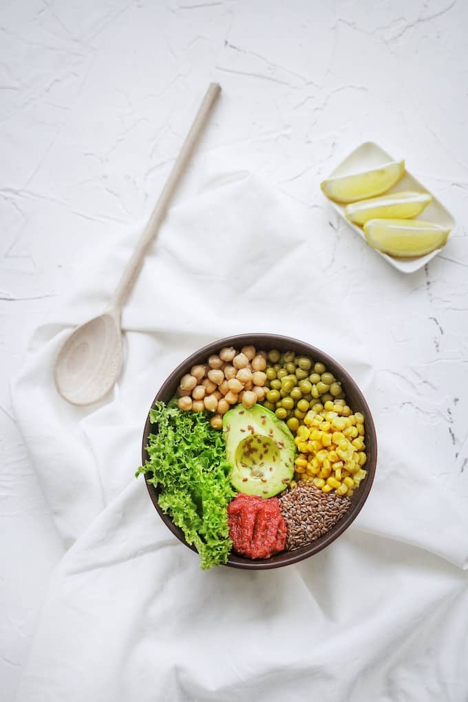 healthy real food salad