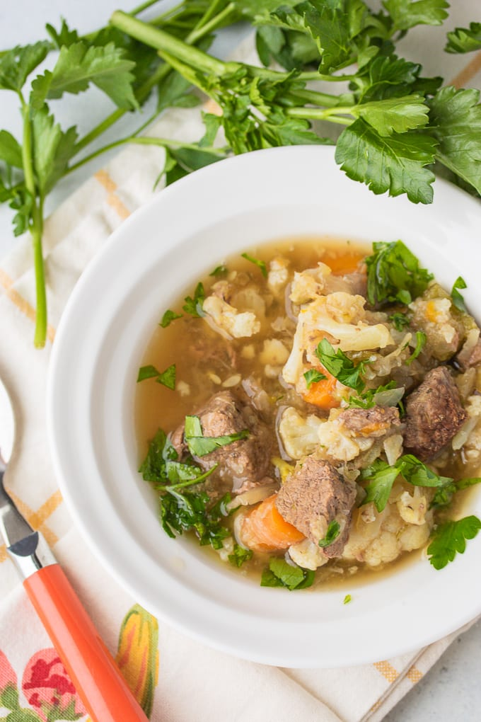 instant pot beef stew low carb