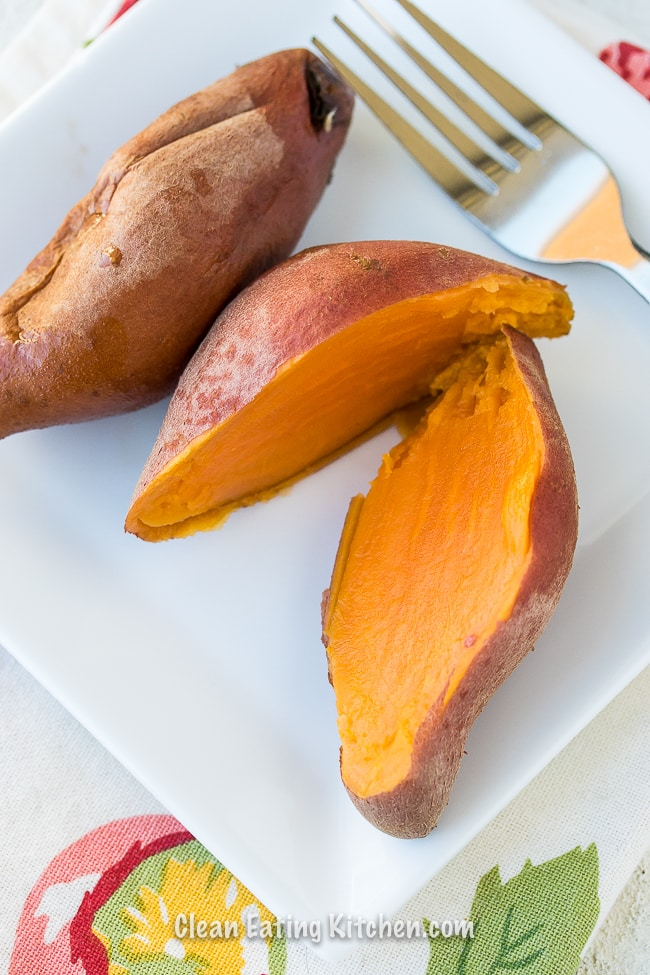 instant pot sweet potatoes whole