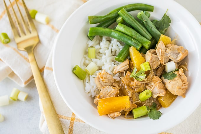 Instant Pot Teriyaki Chicken (Gluten-Free & Paleo)