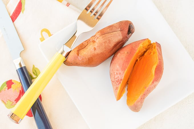 Easiest Instant Pot Whole Sweet Potatoes