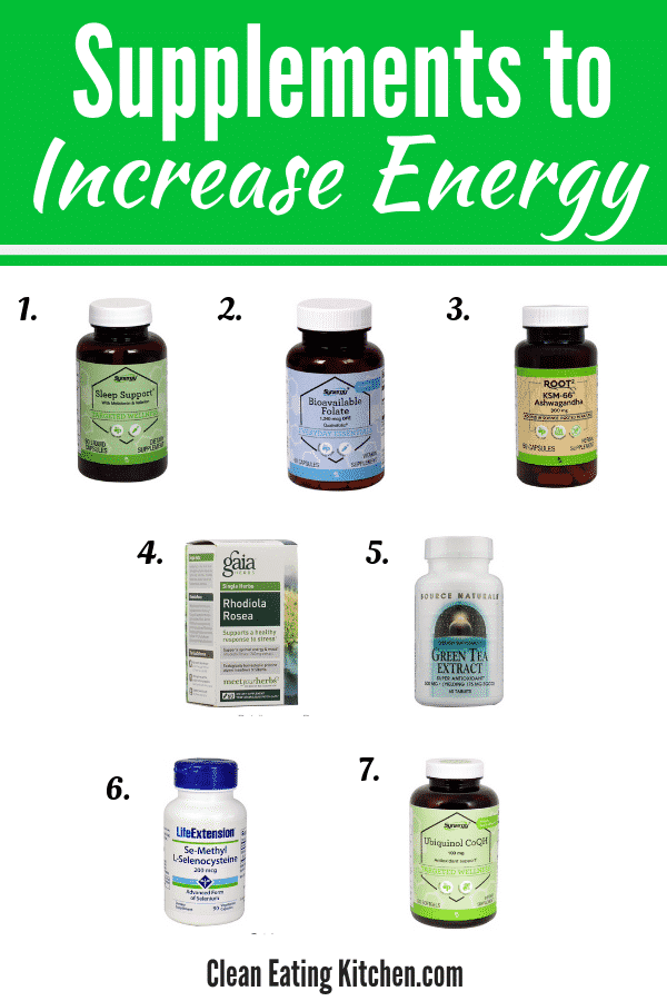 supplements to increase energy