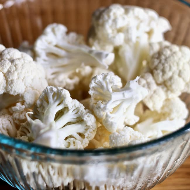 Instant Pot Cauliflower Florets