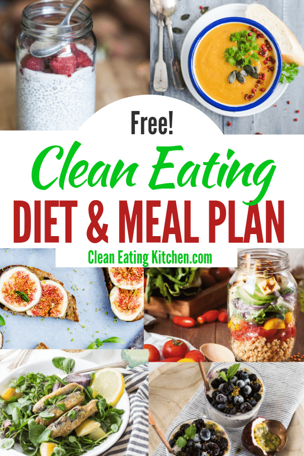 clean eating diet and meal plan