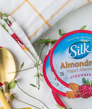 silk almond milk yogurt