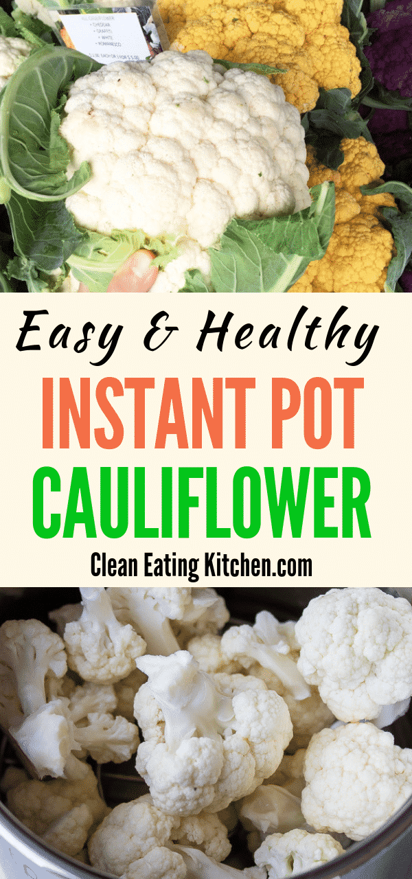 instant pot cauliflower