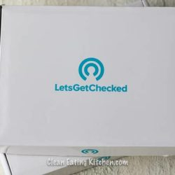 LetsGetChecked online lab testing box