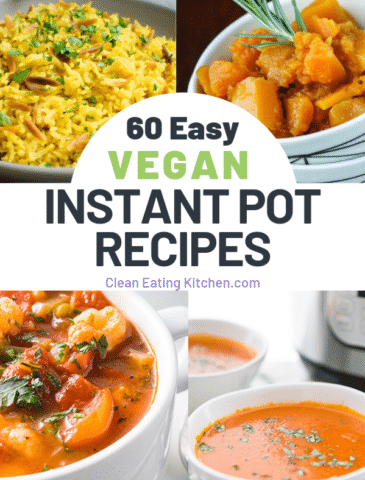 60 easy instant pot vegan recipes