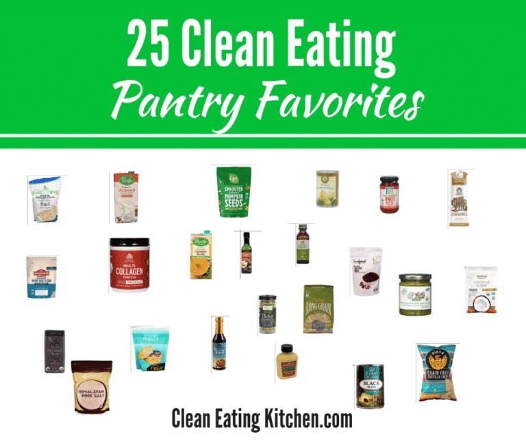 FB clean eating pantry favorites