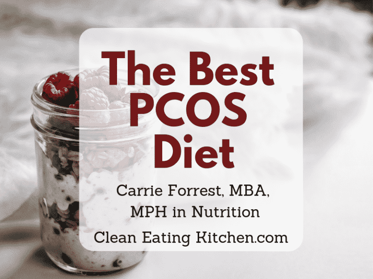 The Best PCOS Diet