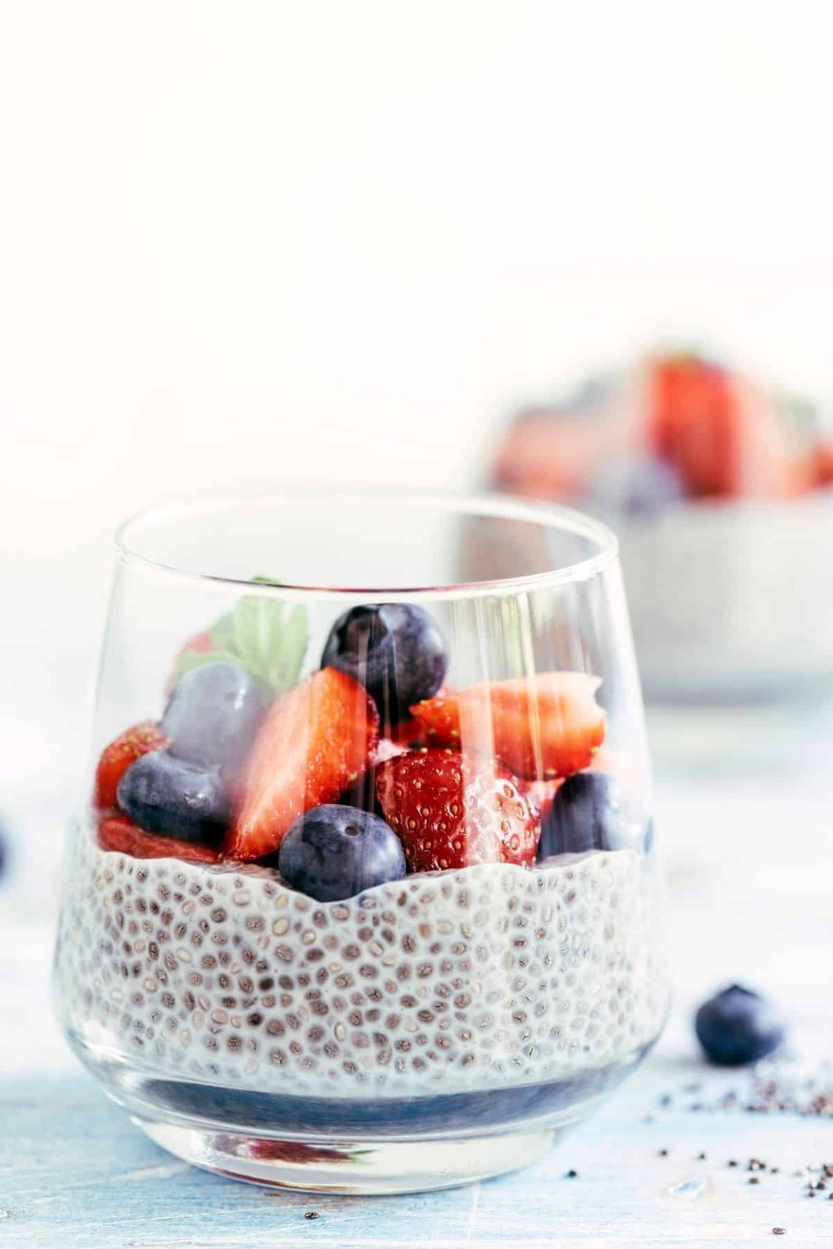 chia pudding breakfast