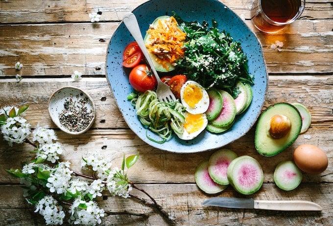 detox veggie bowl