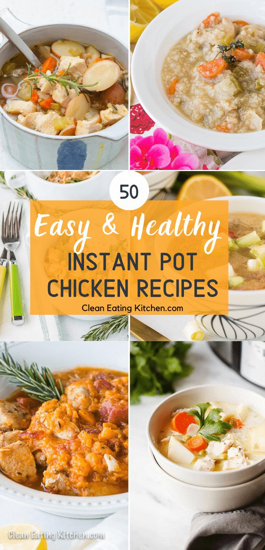 instant pot easy chicken recipes