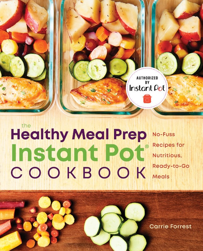 Healthy Meal Prep Instant Pot Cookbook cover