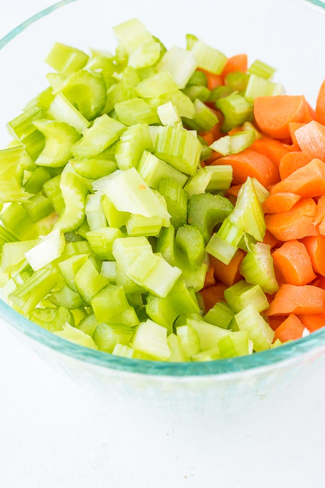 celery and carrots for instant pot soup
