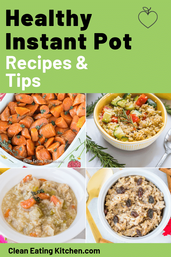 healthy instant pot recipes and tips