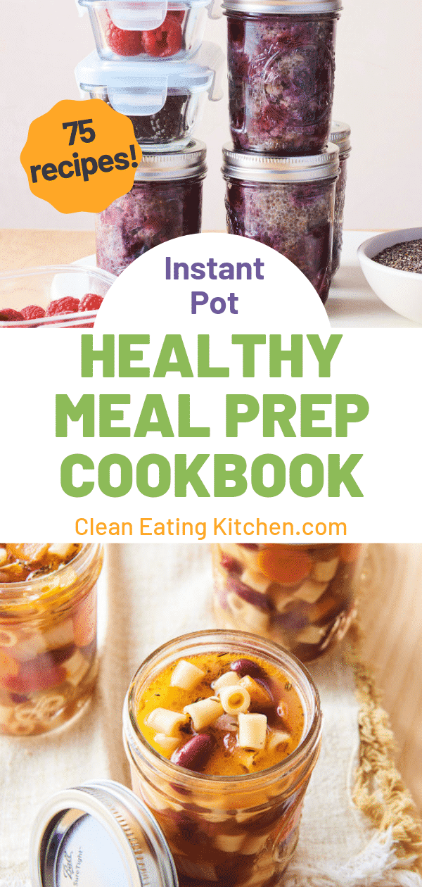 instant pot healthy meal prep cookbook