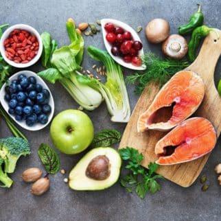 healthy food platter