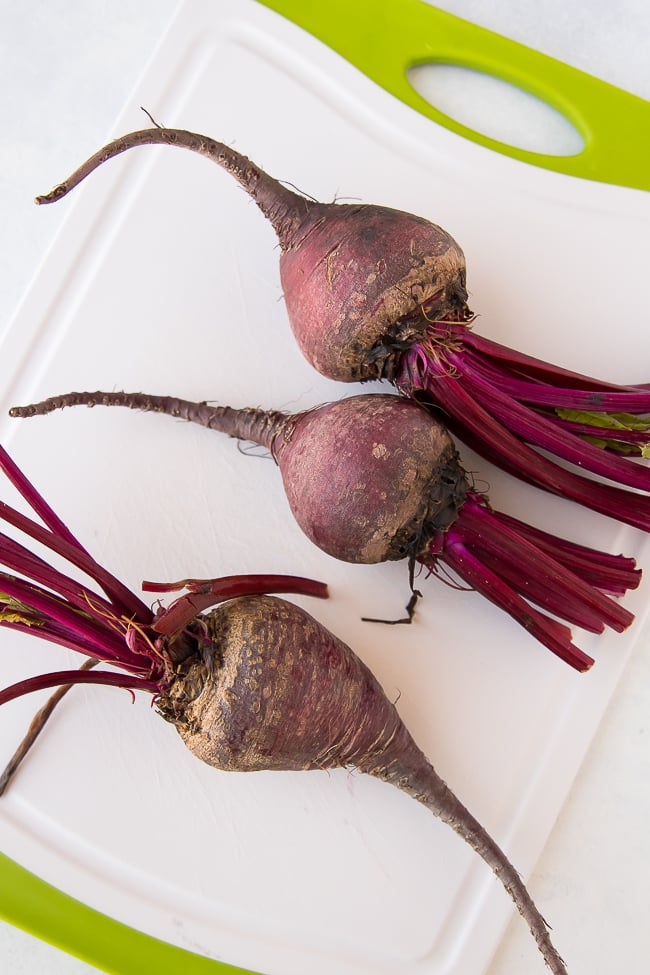 instant pot beets with root