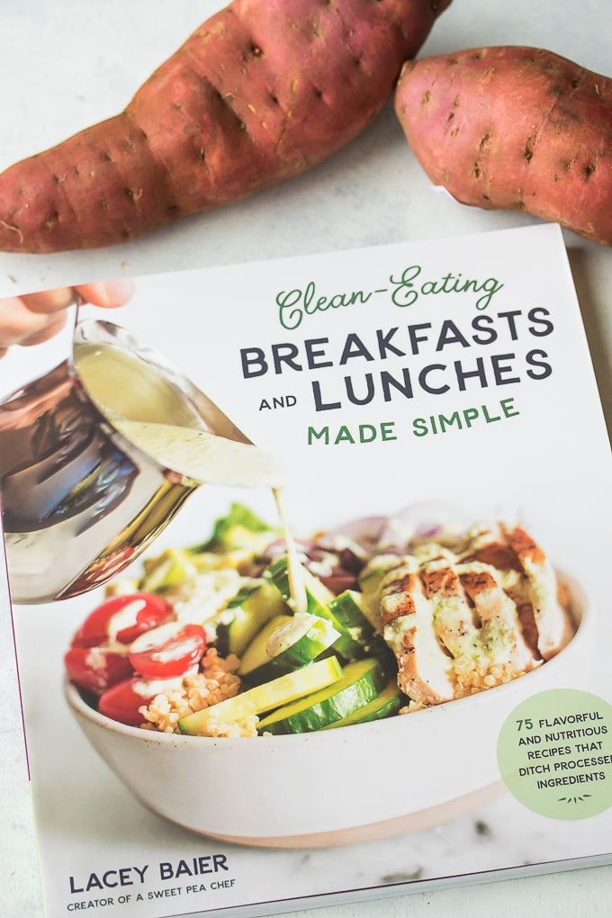 clean eating breakfasts and lunches made simple book cover