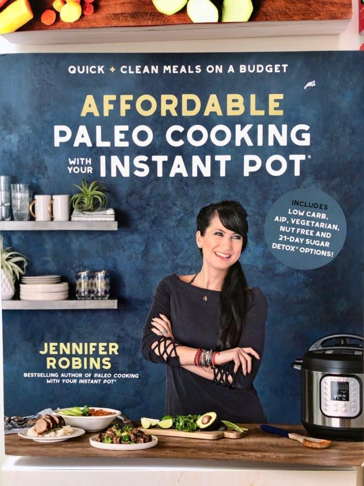 Affordable Paleo Instant Pot cookbook