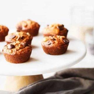 Chocolate-Chip-Sweet-Potato-Muffins-on-plate