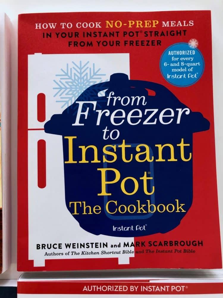 Instant Pot Freezer cookbook