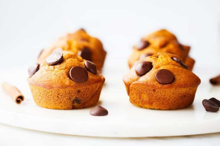 Pumpkin Chocolate chip Muffins Gluten Free and Dairy Free