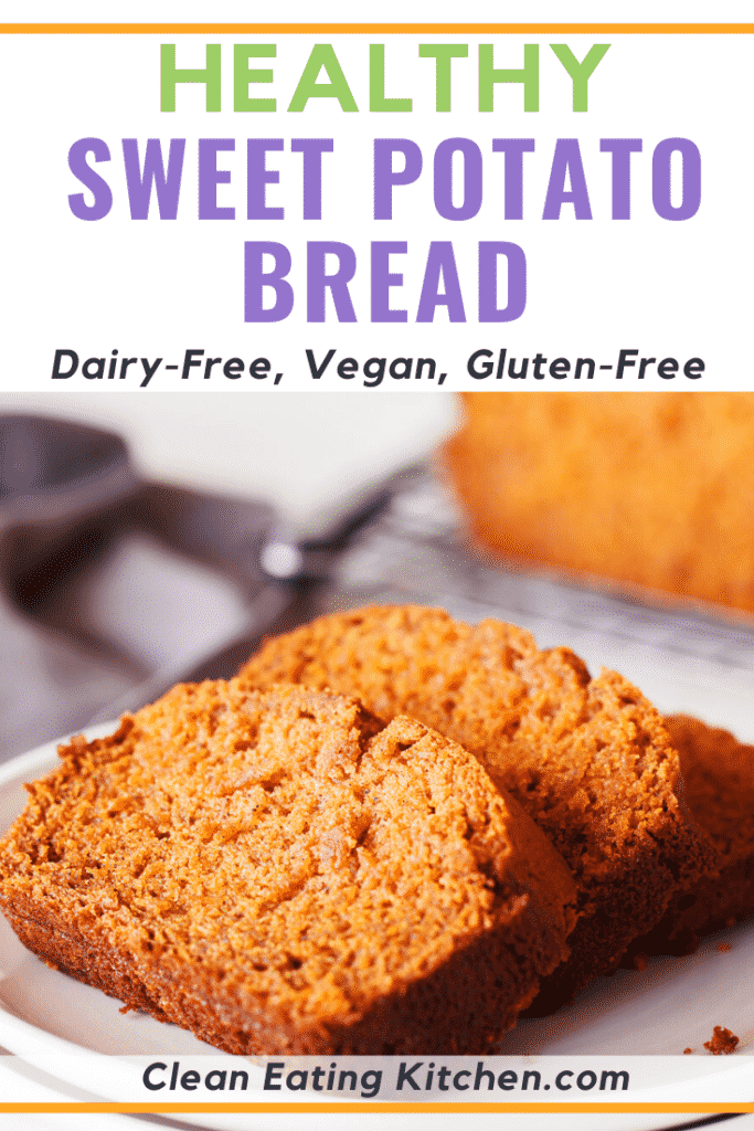 This delicious yeast-free Sweet Potato Bread is gluten-free and so delicious. You can toast it and serve it as an easy side dish or dessert.