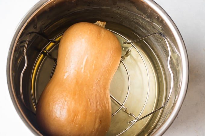Instant Pot Whole Butternut Squash