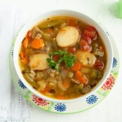 instapot-vegetable-soup