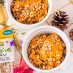 Awesome granola is Gluten-free, nut-free and soy-free and makes a great crunchy topping for this sweet potato soufflé.