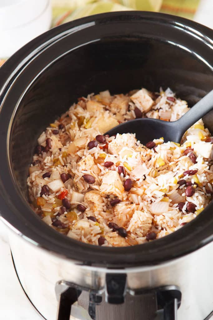 Crockpot meals are easy to prep.