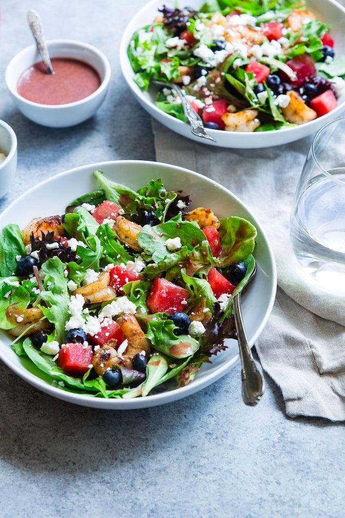 healthy salad low carb