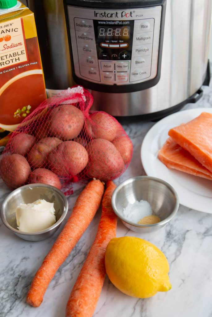 An easy Instant Pot meal with only a handful of ingredients.