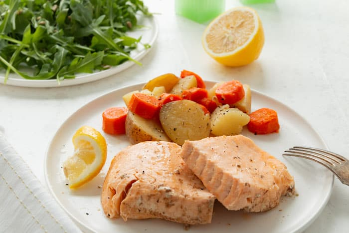 Instant Pot Salmon is a quick, easy and healthy dinner option.