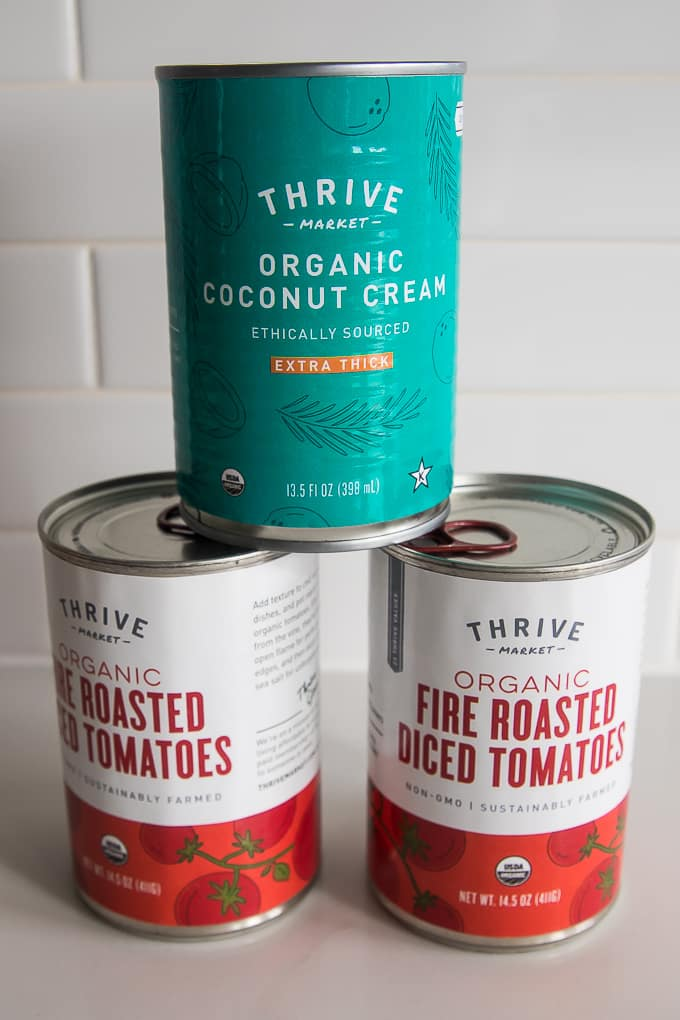 thrive market tomatoes and coconut