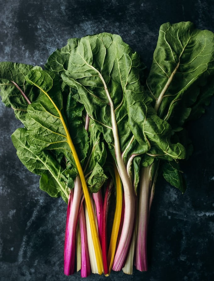 swiss chard bunch